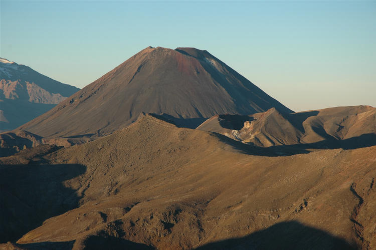 Red Crater and Ngauruhoe.