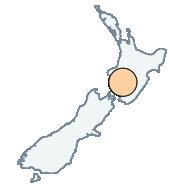 M3.0 quake causing weak shaking near Whanganui